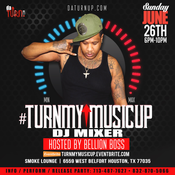 datturnup, #turnmymusicup, Bellion Boss