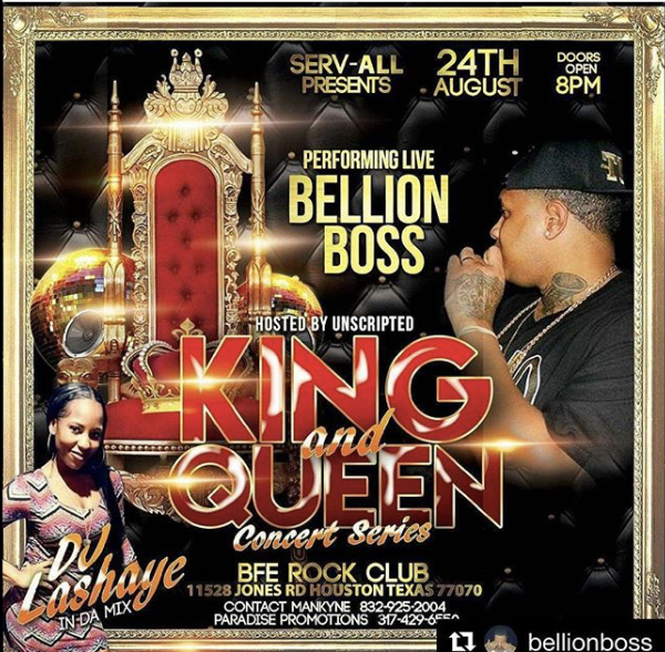 BFE ROCK CLUB - KING and QUEEN concert series